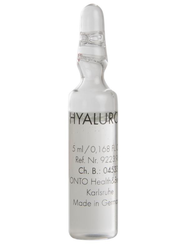 Гиалуроновая кислота в ампулах для наружного применения